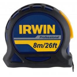 Svinovací metr, 8 m x 25 mm, magnet, Professional, Irwin, 10508060