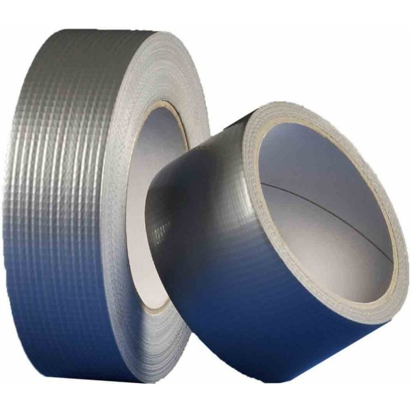 Univerzální textilní lepící páska, 50 mm, délka 50 m, stříbrná, Den Braven B802TE, DB01049