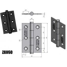 Závěs dveřní, KZ 60, zinkovaný, TKZ Polná, 8260053A, ZAV60