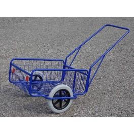 Vozík RAPID 6, polyurethan, komaxit, 450 x 640 x 280 (1320 mm), nosnost 80 kg, RAPID6