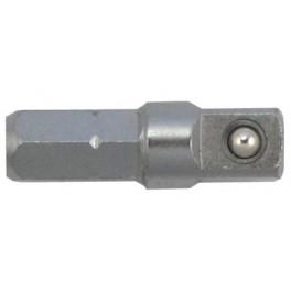 "Adaptér šestihran 1/4"" / čtyřhran 1/4"", délka 25 mm, Narex Bystřice, B8329-00"