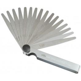 Spárové měrky, 0.05 - 1 mm, 100 mm, Kinex, KSM0.05/100