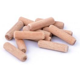 Dřevěné nábytkářské kolíky, 12x50 mm - 500 ks, DRKOL12X50-500