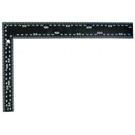 Úhelník černý, 300 x 200 mm, 14410