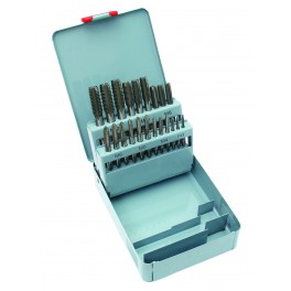 Sada závitníků, 21-dílná, M3-M12, v plechové krabiččce, Festa, F20390