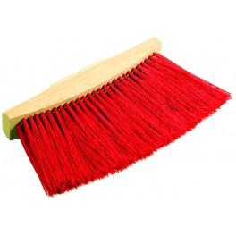 Ulicový smeták, 25 cm, dlouhý vlas, bez násady, 52108