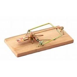 Past na myši, dřevěná, 90 x 45 mm, 2 ks, 70221