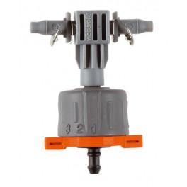 Regulovatelný řadový kapač, 5 ks, Micro-Drip-System, Gardena, G8317-29