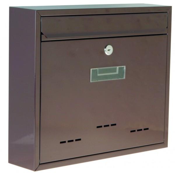 Poštovní schránka, bílá, 310 x 360 x 90 mm, P70104