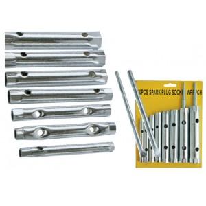Sada trubkových klíčů, 6 - 22 mm, 10-dílná, 231379