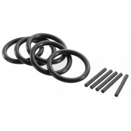 """Sada 5 jistících kroužků a O-kroužků, 8 - 14 mm, 1/2"""", Expert, E117884T"""