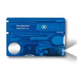 Victorinox SwissCard Lite, modrá transparentní, 0.7322.T2