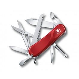 Kapesní nůž, Victorinox Evolution 18, červený, 2.4913.E