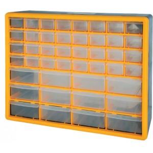 PVC organizér, 44 zásuvek, 500 x 160 x 380 mm, 239181