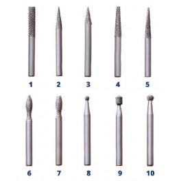 Rotační pilník, slabý, č. 4, 28621711 0634, AJAX, ARPSL4