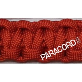 Šňůra Paracord 550, 4 mm, červená tmavá, SNURA4CT