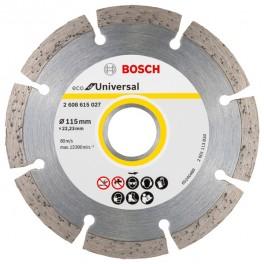 Diamantový kotouč, 230 x 22,23 mm, Eco for Universal, segm., bez krabičky, Bosch, 2.608.615.044