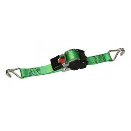 Automatický upínací pás, 50 mm, 3 m, 1500 kg, špičatý hák, 1198835