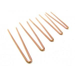 Hroty náhradní, měděné 5 ks, 1,3 mm, Nuba, HR1