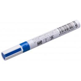 Permanentní značkovač, modrá barva, alu pouzdro, F13230