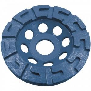 U-segmentový diamantový brusný disk, 115 x 22.2 mm, Dedra H1210