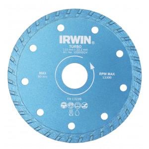 Diamantový kotouč Turbo, 180 x 22,2 mm, Irwin DT180