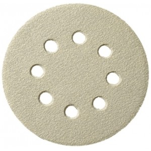 Brusný papír na suchý zip 125 mm, zrno 120, GLS5, PS33K, DPS33K125P120O5