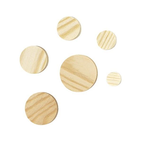Kónické destičky, 15 mm, borové dřevo, Wolfcraft, 2940000
