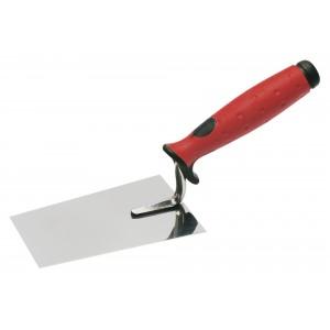 Lžíce nerezová, 140 mm, s gumovou rukojetí, F31233