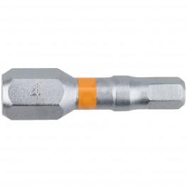 Standartní bit s šestihrannou drážkou, Imbus 4 x 25 mm, Orange, SUPER LOCK, 2 ks, Narex, 65404471