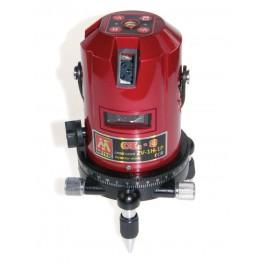 Stavební interiérový křížový laser, 2V - 1H - 1P, Metrie CL-3