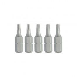 Torzní bit, drážka Torx, T10 x 25 mm, 5 ks, DeWALT, DT7253