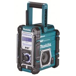 Aku rádio, 7,2 V - 18.0 V, bez akumulátoru, DAB s Bluetooth, Li-ion, Makita, DMR112