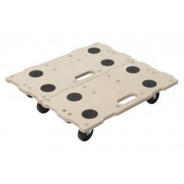 Stěhovací vozíky Puzzle Boards, 2 ks, FT 400, Wolfcraft, 5543000