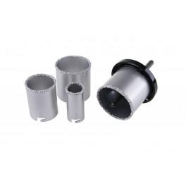 Sada korunek s karbidem, 33 - 73 mm, 4-dílná, 03300