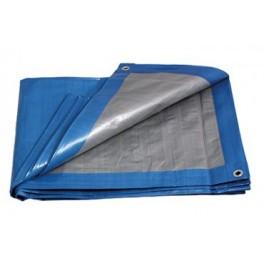 Zakrývací plachta, zesílená, 2 x 3 m, 140 g/m2, modrá, PLS2X3MS
