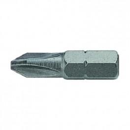 Standartní bit s drážkou Pozidrive, PZ1, 25 mm, Bahco, BPZ1