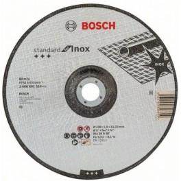 Řezný kotouč na nerez, 230 x 1.9 x 22,2 mm, Standart for Inox, 2.608.601.514, Bosch, RN230/1.9B