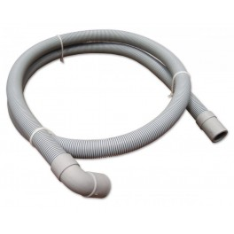 Pračková hadice vypouštěcí, rovná - koleno, 46 cm, PHVRK50