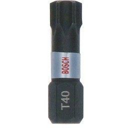 Torzní bit IMPACT Extra Hard, Torx40 x 25 mm, 1 ks, Bosch, 2.607.002.808