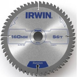 Pilový kotouč 160 x 20 mm, 56 zubů, Professional Aluminium, 10506831, Irwin, IPA160/56