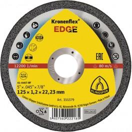 Řezný kotouč na nerez, ocel, 115 x 1.2 x 22,23, Kronenflex® Edge, Klingspor, RO115/1.2KE