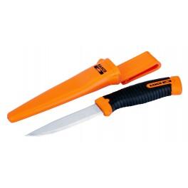Univerzální nůž s nerezovou čepelí, 220 / 100 mm, oranžovo-černý, Bahco, 2446-OV