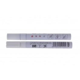 Permanentní značkovač-bílá barva, alu, F13227