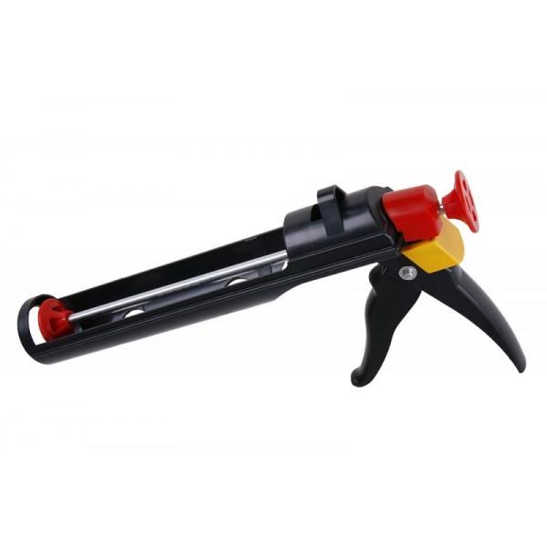 Vytlačovací pistole, plastová, polouzavřená, 000554