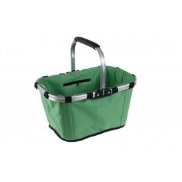 Zahradní skládací koš, hliníkový profil, pevná tkanina, 45093