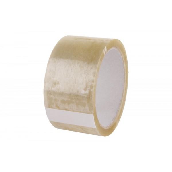 PVC páska, transparentní, 50 mm x 50 m, F38942