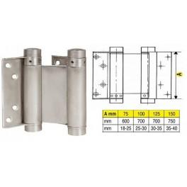 Pružinový závěs, 29 / 75mm, Ni, F1-107029, 032001