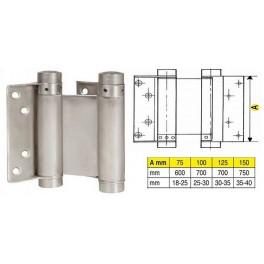 Pružinový závěs, 33 / 125 mm, Ni, F1-107033, 032011