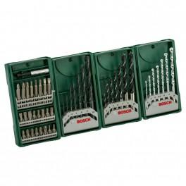 Sada vrtáků a bitů, Multipack 3+1, Mini-X-Line, Bosch, 2.607.017.071